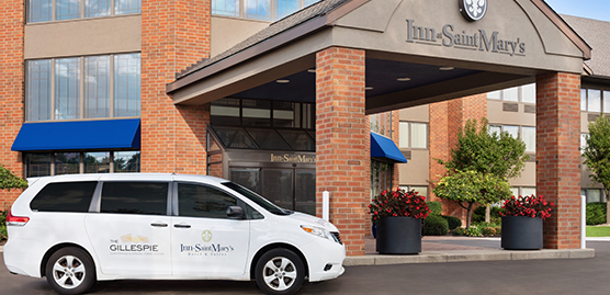 south bend indiana hotel with free shuttle